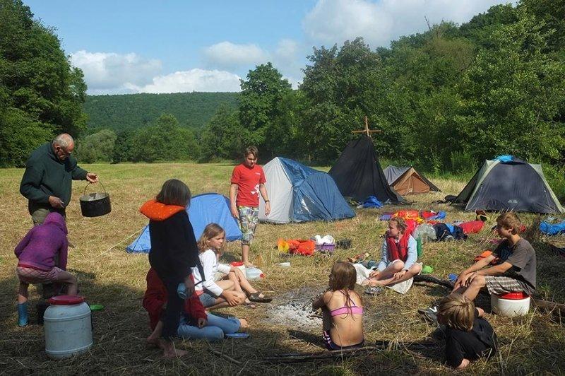 Lager am Dreiecksfelsen 02