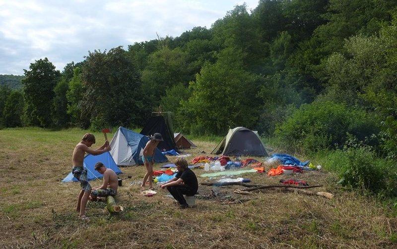 Lager am Dreiecksfelsen 06