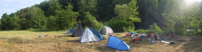 Lager am Dreiecksfelsen 16