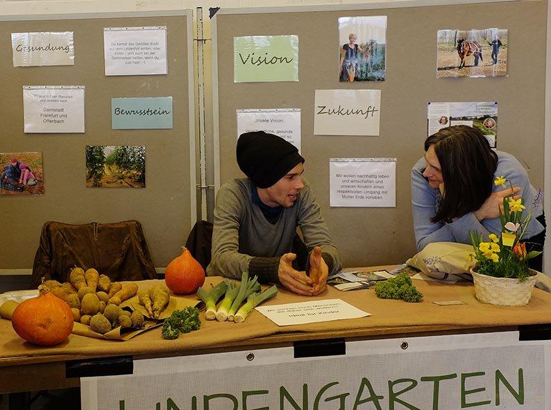 Infomesse - Stand Lindengarten 1
