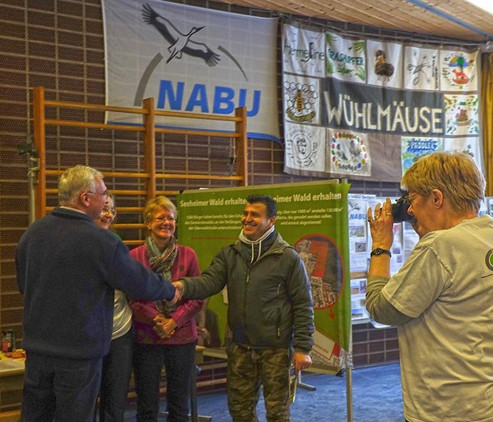 Infomesse - Stand Seeheimer Wald erhalten