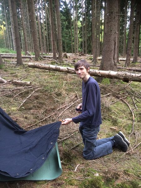 Wühlmaus-Lager Taunus 10