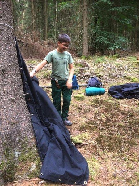 Wühlmaus-Lager Taunus 09