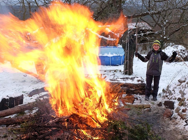 Winterverbrennung 85 10x14s
