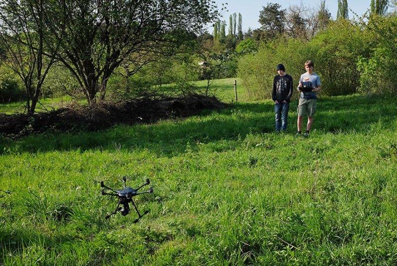 Drohnen-Training 4