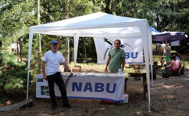 Honigfest Lernort Natur - NABU-Stand