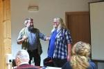 1 Biberseminar Naturschutzscheune - Fritz Fornoff und Gerhard Schwab
