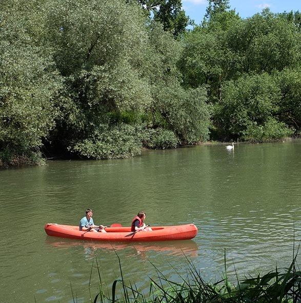 Anfänger-Paddel Einbooten 36 10x10s
