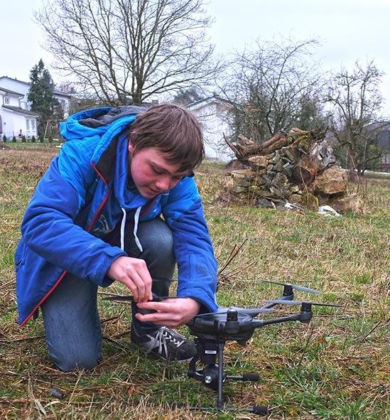Drohnen-Training 2 10x10s