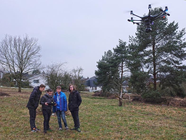 Drohnen-Training 21 10x13s