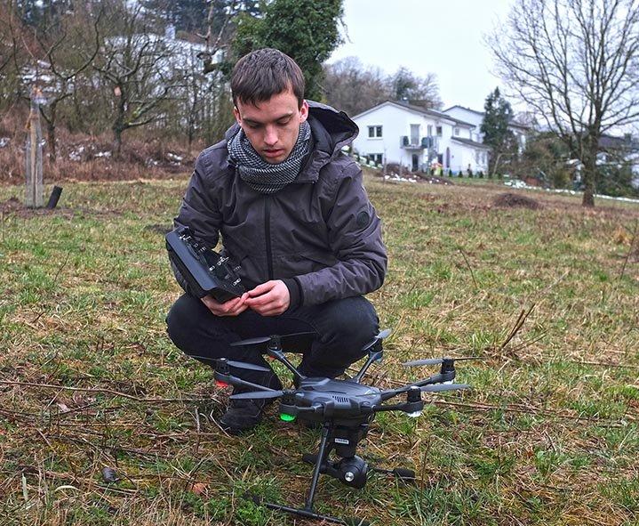 Drohnen-Training 4 10x13s