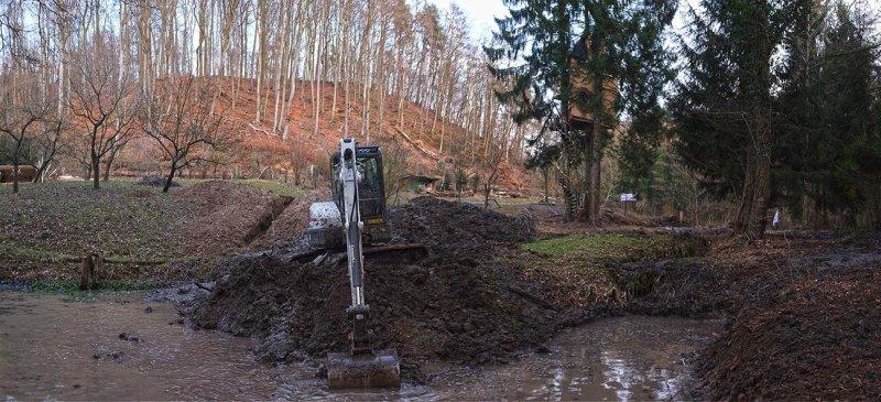 Baggereinsatz Etzwiesen 36 10x22s
