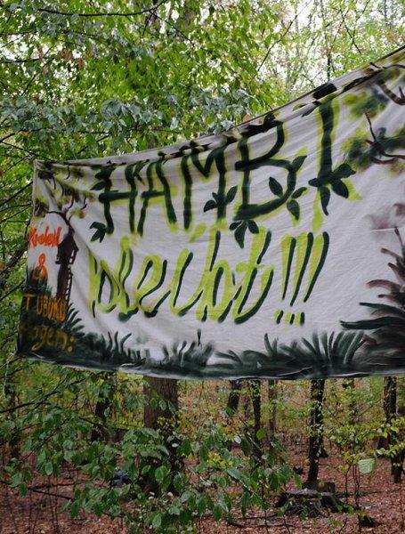 Plakat Hambi bleibt 1 10x12s