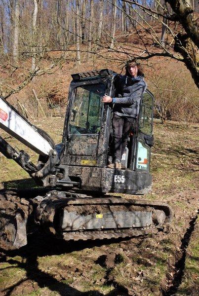 Baggereinsatz Etzwiesen 36 putzen 10x15s