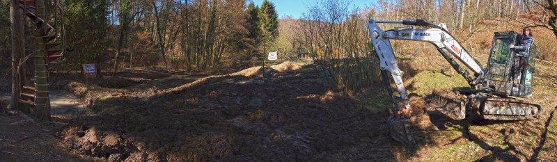 Baggereinsatz Etzwiesen 37 putzen 10x34s