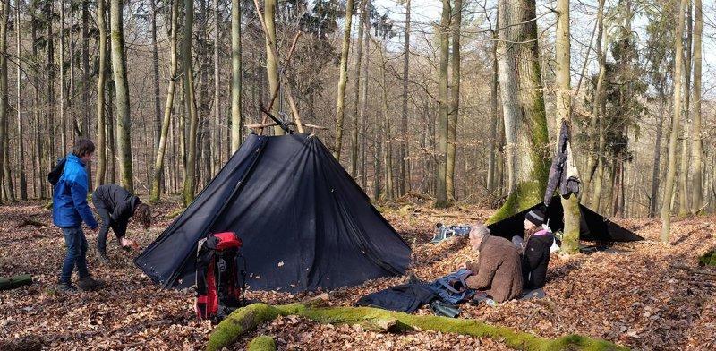 Abbau Wühlmaus-Lager 2