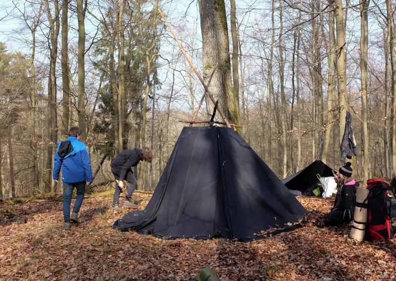 Abbau Wühlmaus-Lager 4