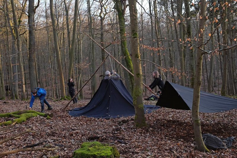 Aufbau Wühlmaus-Lager 08