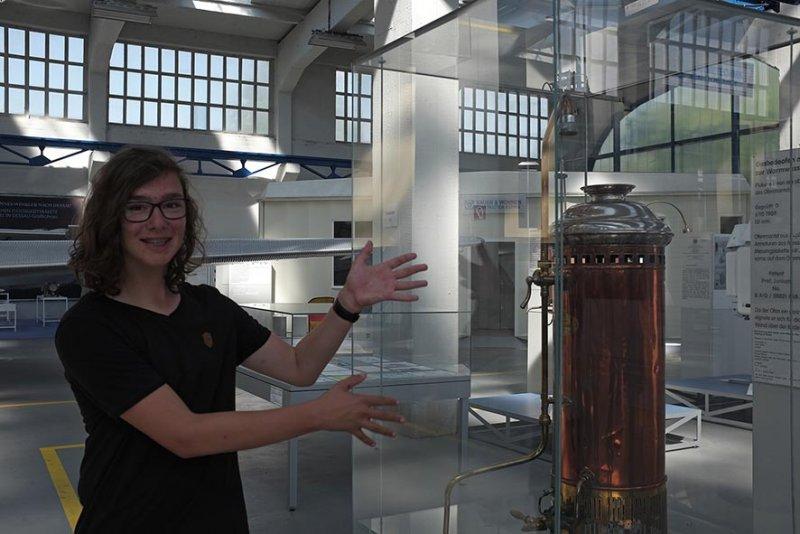 03 Junkersmuseum Dessau - Durchlauferhitzer 2