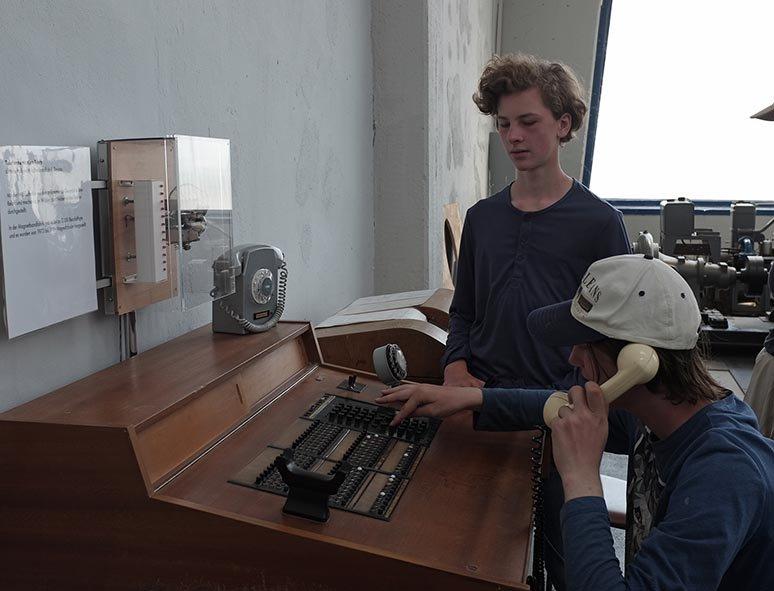 03 Junkersmuseum Dessau - Telefonzentrale 3