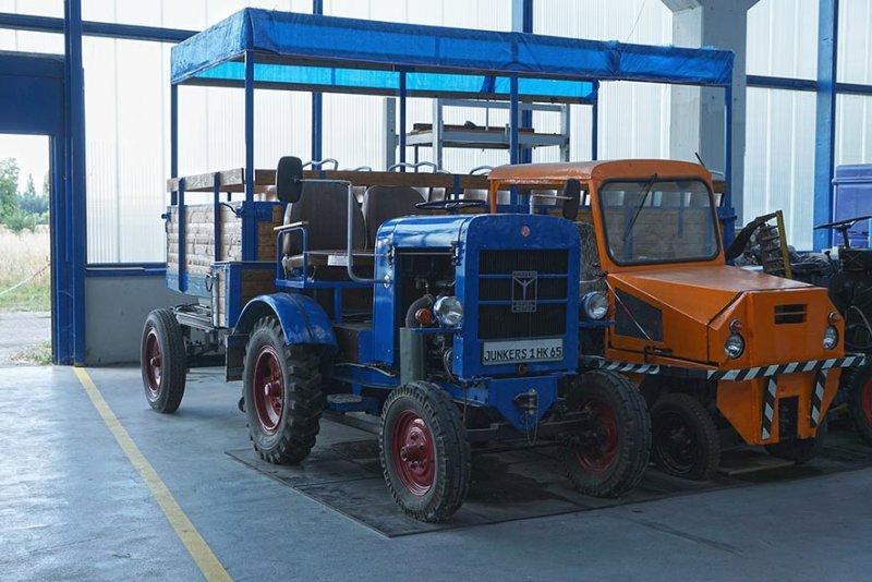 03 Junkersmuseum Dessau - Traktoren