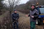 Kurs Obstsschnitt im Pfarrfeld am Seeheimer Blütenhang 05 Rede Thomas Reinhardt 10x13s