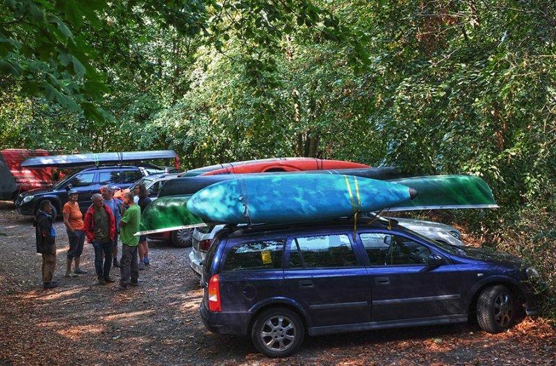 Boote laden in Malchen 1