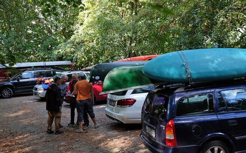 Boote laden in Malchen 2