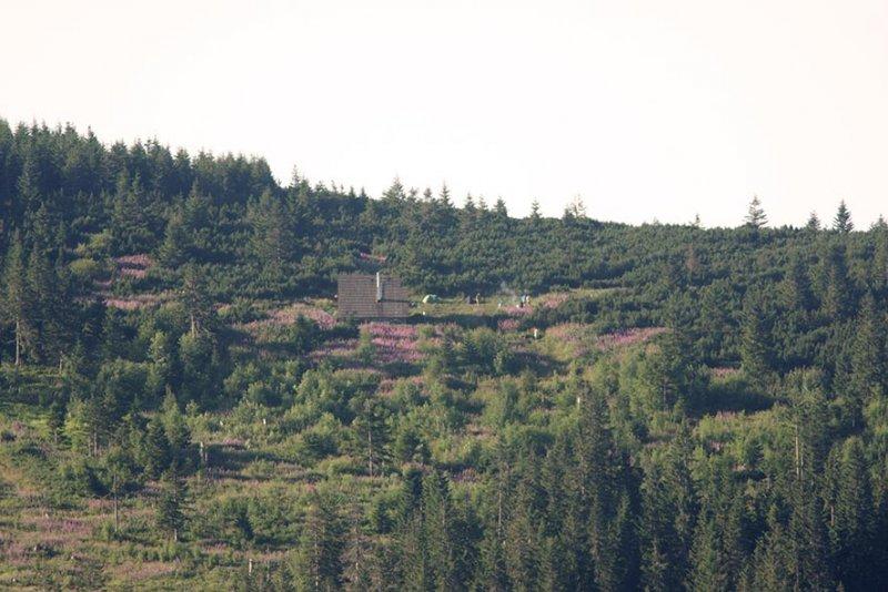 11 Ansitz - Hütte Andrejcova am Gegenhang