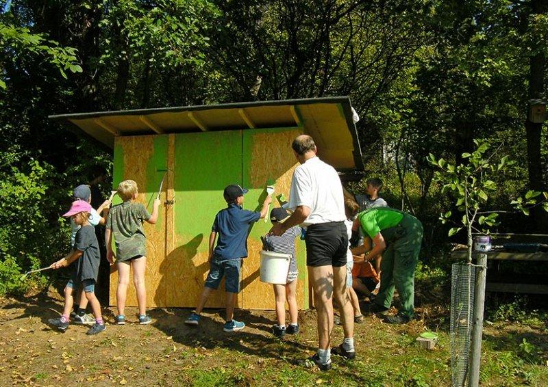 Hütte im Wühlmausgarten 4