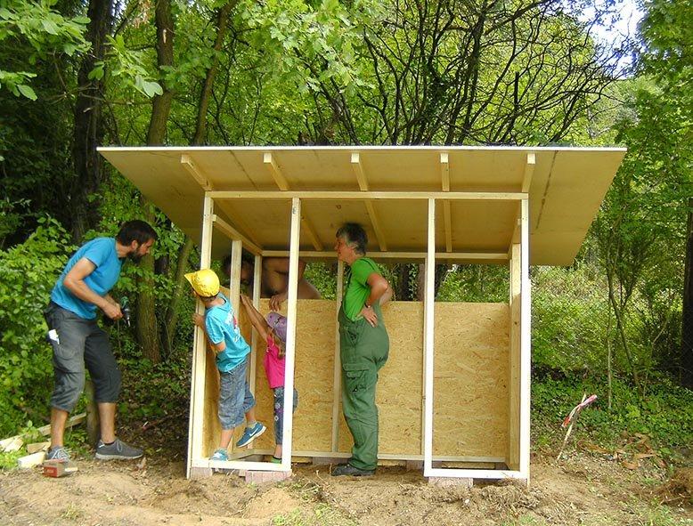 Werkzeughütte im Wühlmausgarten 13
