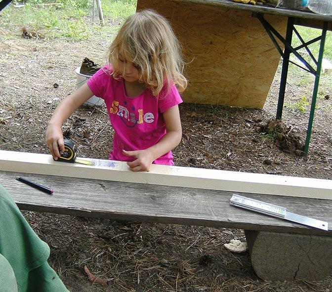 Werkzeughütte im Wühlmausgarten 15