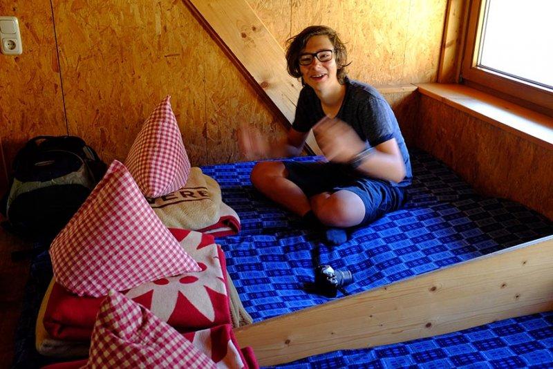 01 Schlaflager Darmstädter Hütte 2