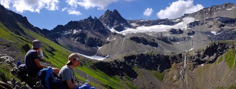 09 Rast am Pass zur Niederelbehütte 1