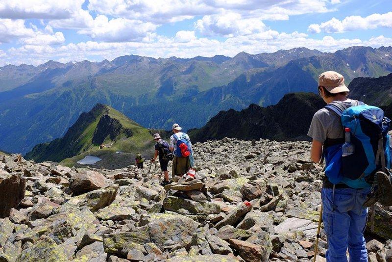 13 Abstieg zur Niederelbehütte 1