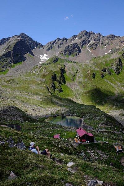 13 Abstieg zur Niederelbehütte 3