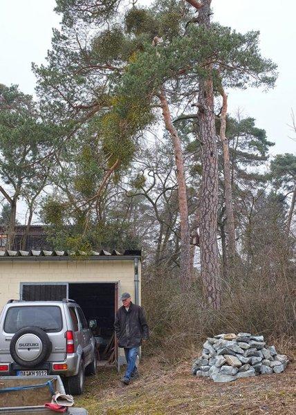 NABU-Garage Natursteinhügel 2 10x14s