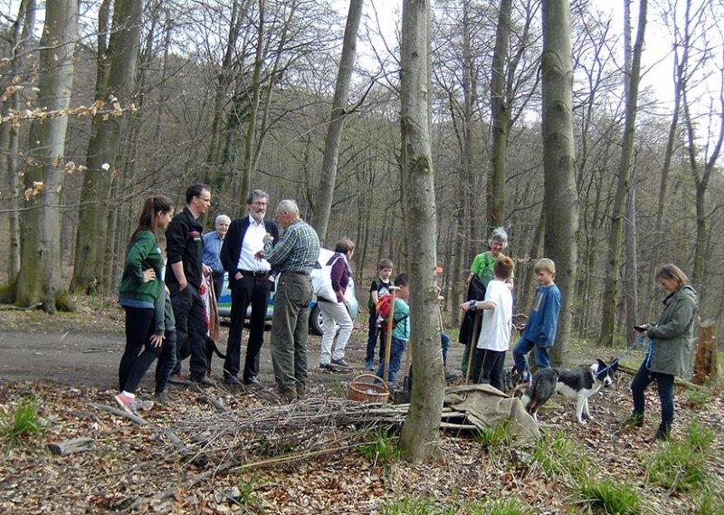 Einsatz Alsbacher Wald 2