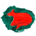 Gruppenstunde der Füchse: Die Fuchsfahne