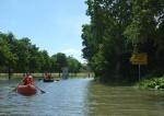 Hochwasserpaddeln in Stockstadt