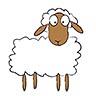 Der Bock kommt zu den NABU-Schafen