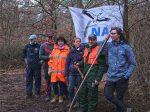 NABU-Baggerevent schafft Amphibienkinderstube in der Malcher Tanne - Tag 1