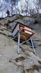 Ersatz für den Falkenkasten im Steinbruch Erlenbruch bei Alsbach