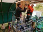 Ein Schleiereulenkasten für den Landschaftspflegehof am Erlensee