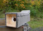 Steinkauzkästen für die Bienenweide