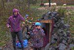 Die NABU-Schafe ziehen ins Winterlager