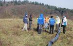 Aufbau der Amphibienzäune in Ober-Beerbach