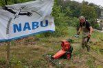 Aktionstag auf dem NABU-Grundstück