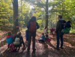 Waldeinsatz der Wühlmaus-Kindergruppen