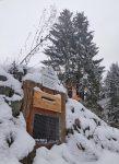 Fledermaus-Winterquartier an den Märchenteichen